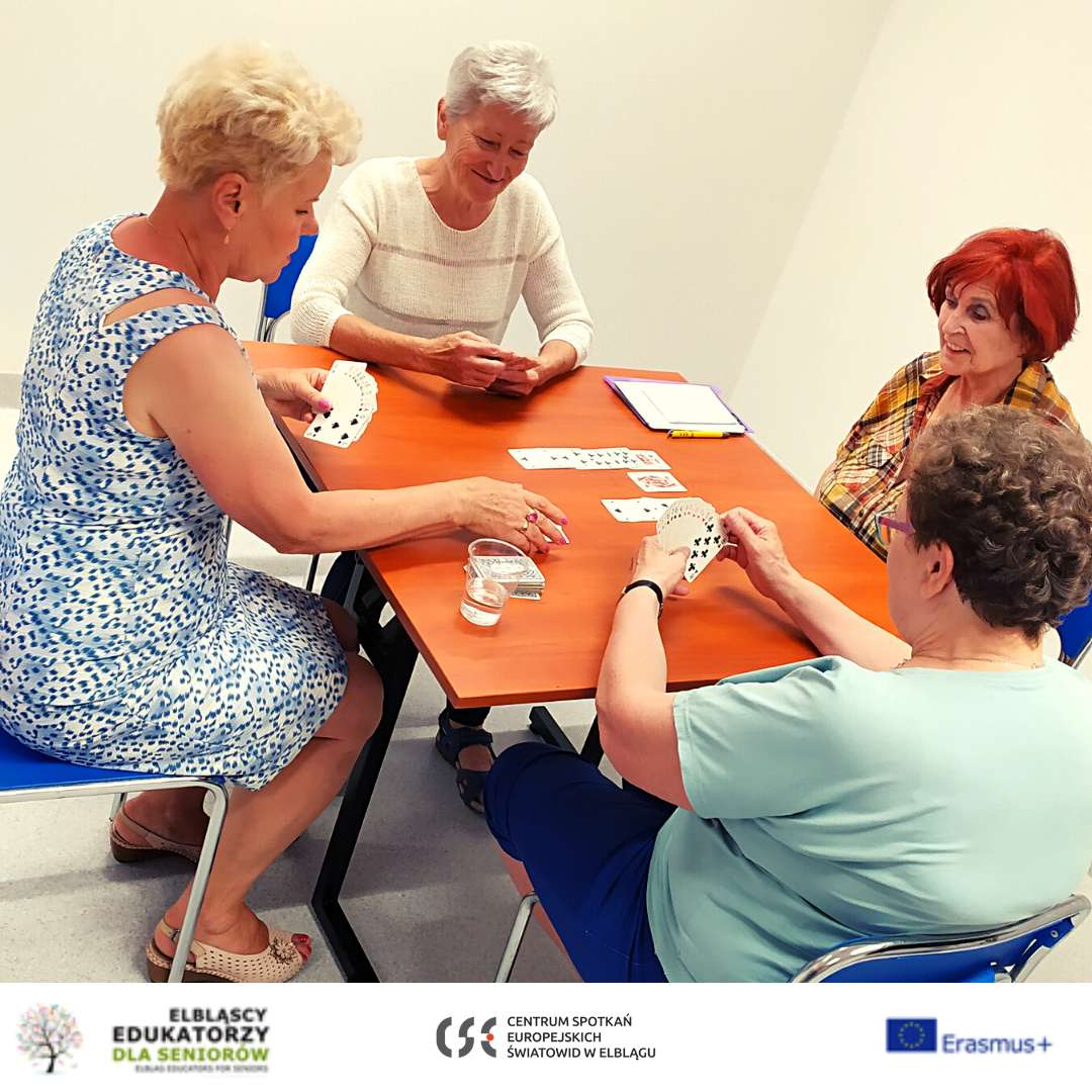 Spotkanie brydżowe - Klub Aktywnego Seniora