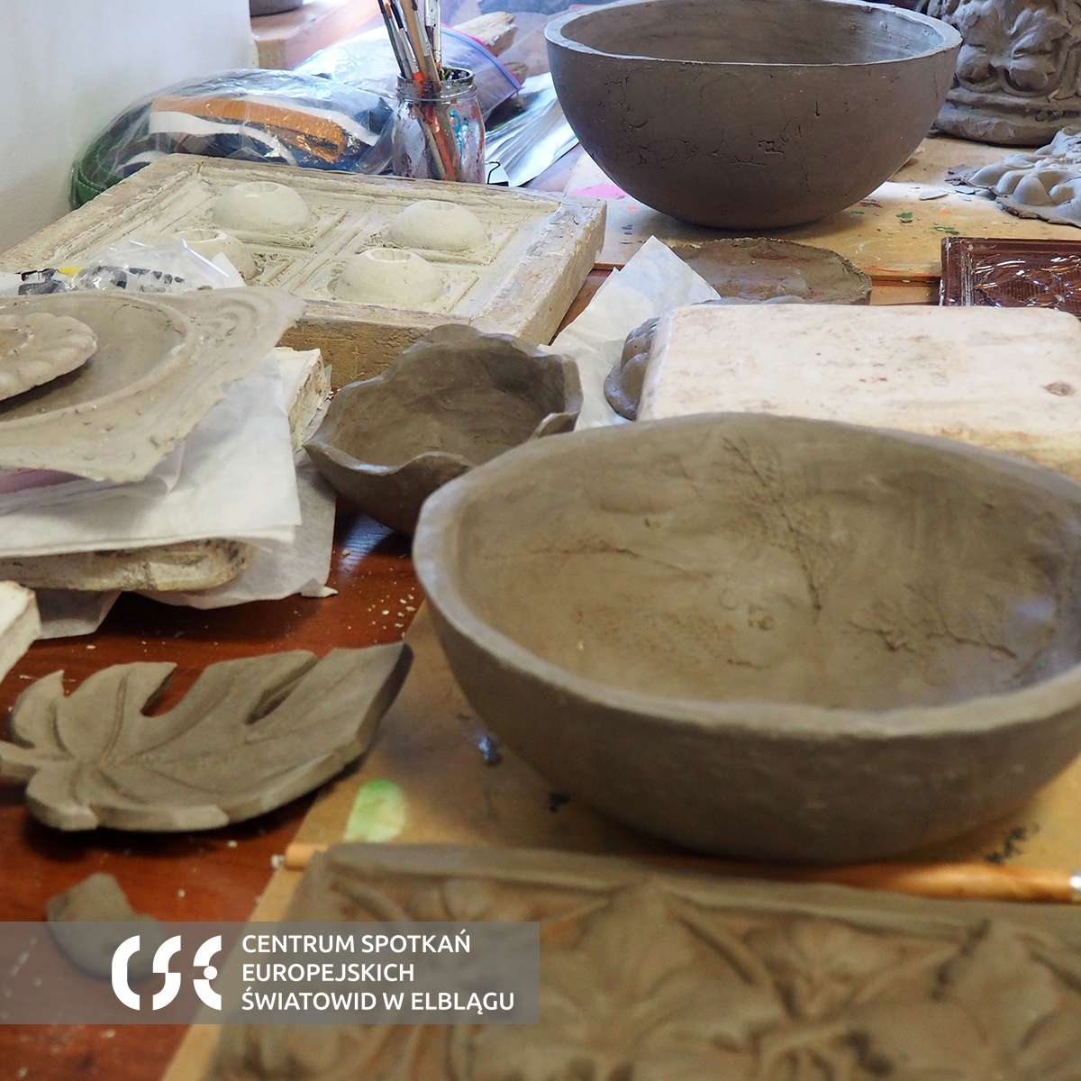 Plener artystyczny - Kadyny wioska sztuki