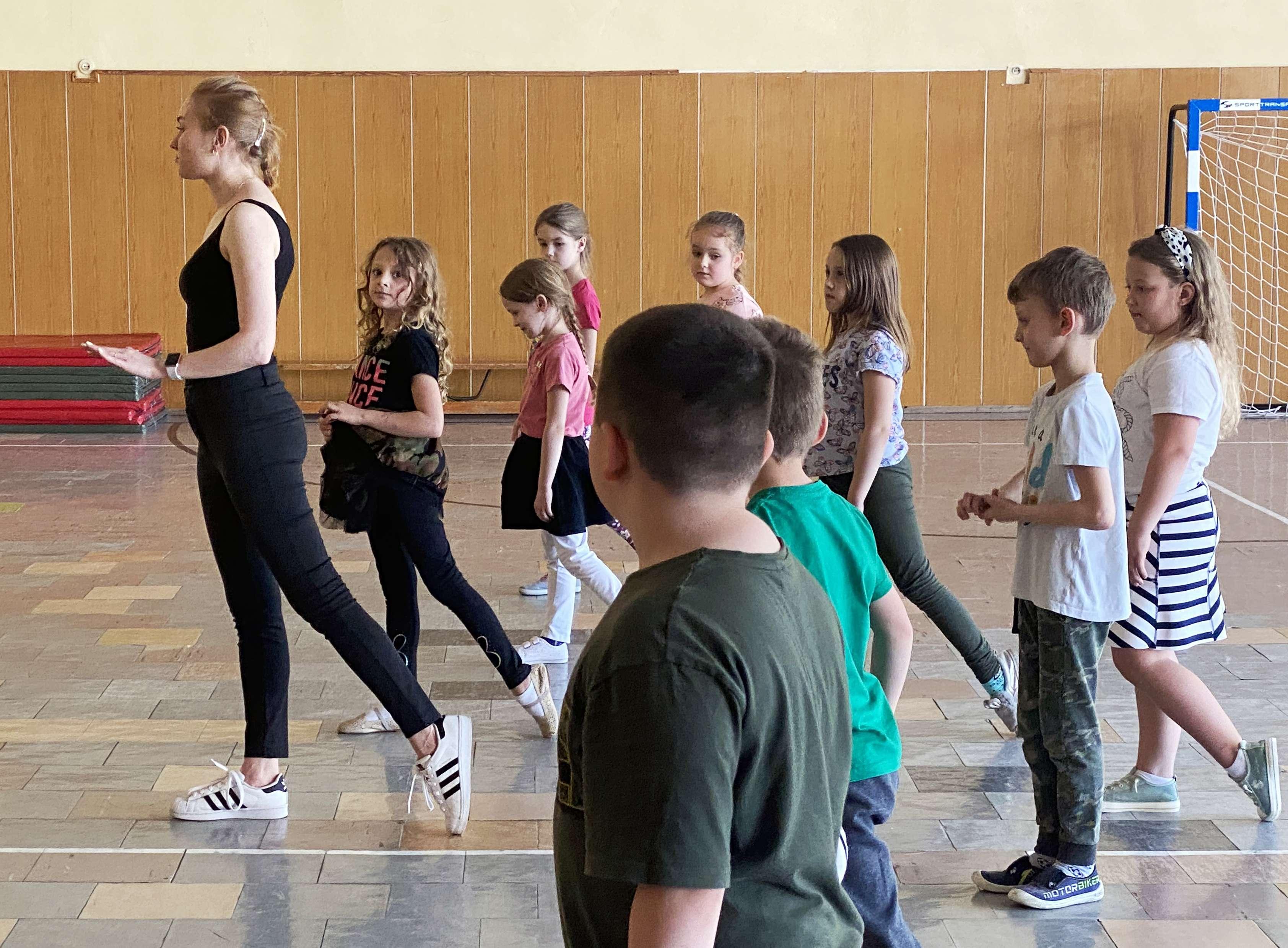 Zajęcia w ramach Elbląskiej Ligii Tańca