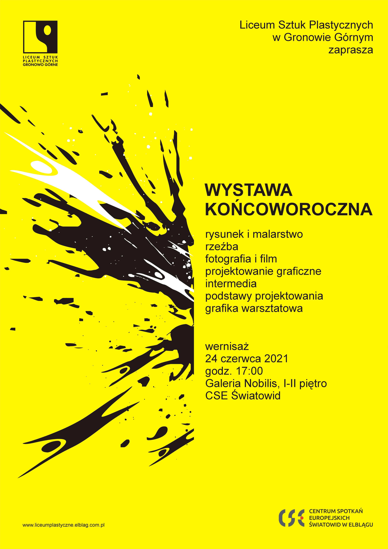 """Wystawa końcoworoczna uczniów Liceum Plastycznego w """"Światowidzie"""""""