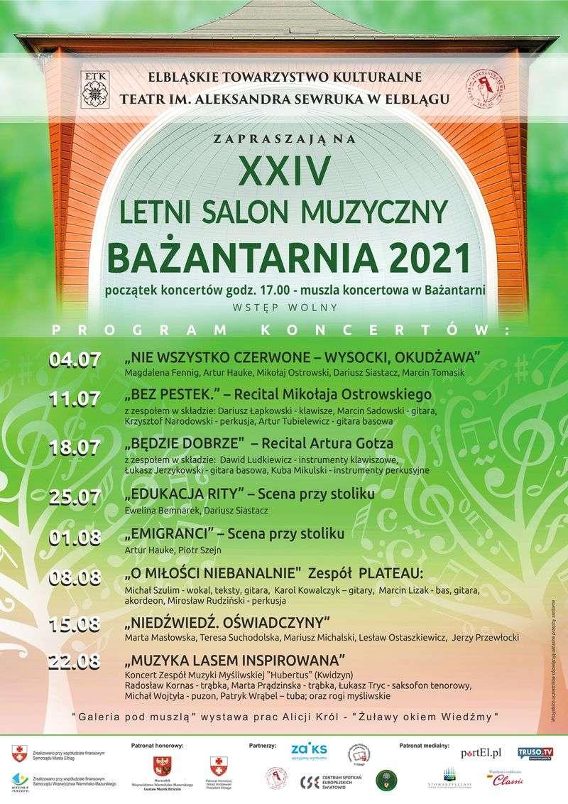"""CSE """"Światowid"""" partnerem XXIV Letniego Salonu Muzycznego - Bażantarnia 2021"""