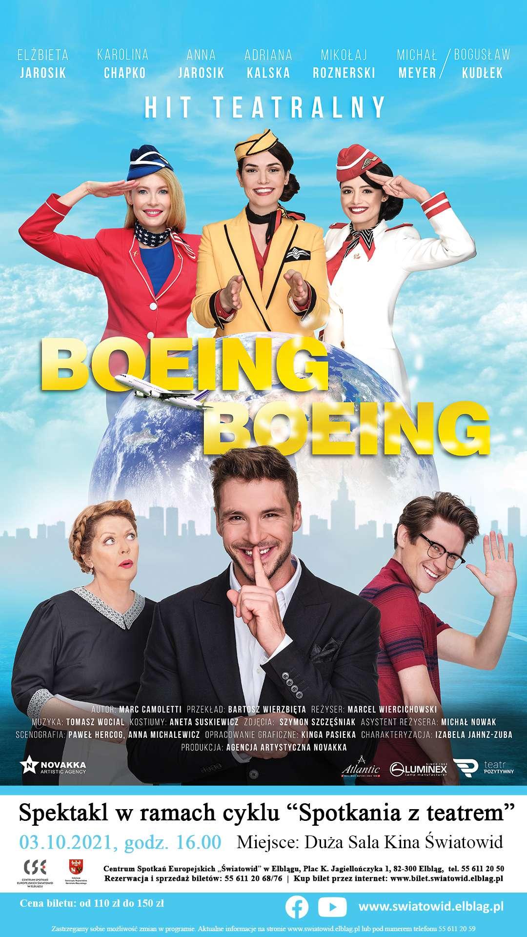 Hit teatralny - Boeing Boeing!