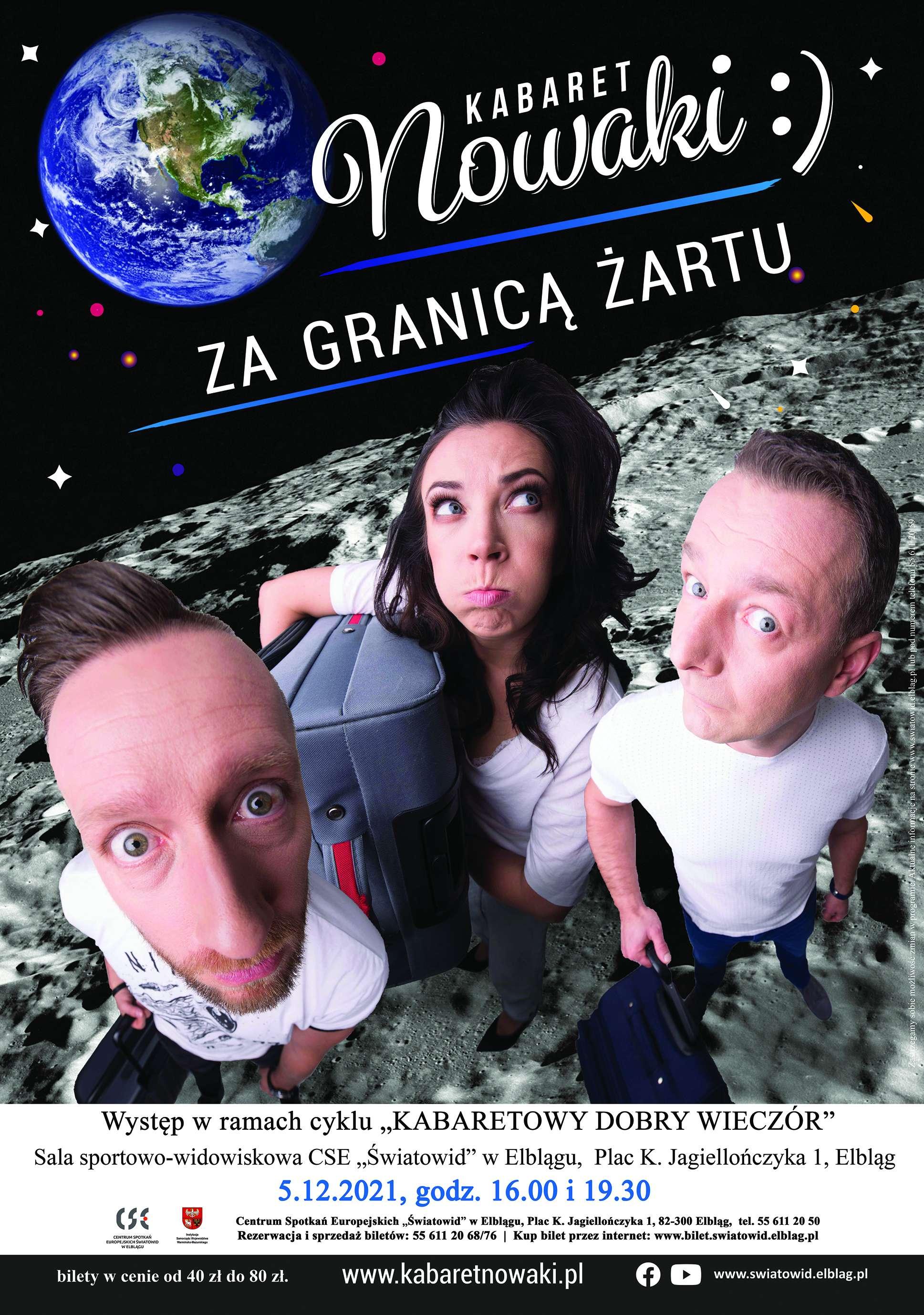 Kabaret Nowaki | Za granicą żartu!