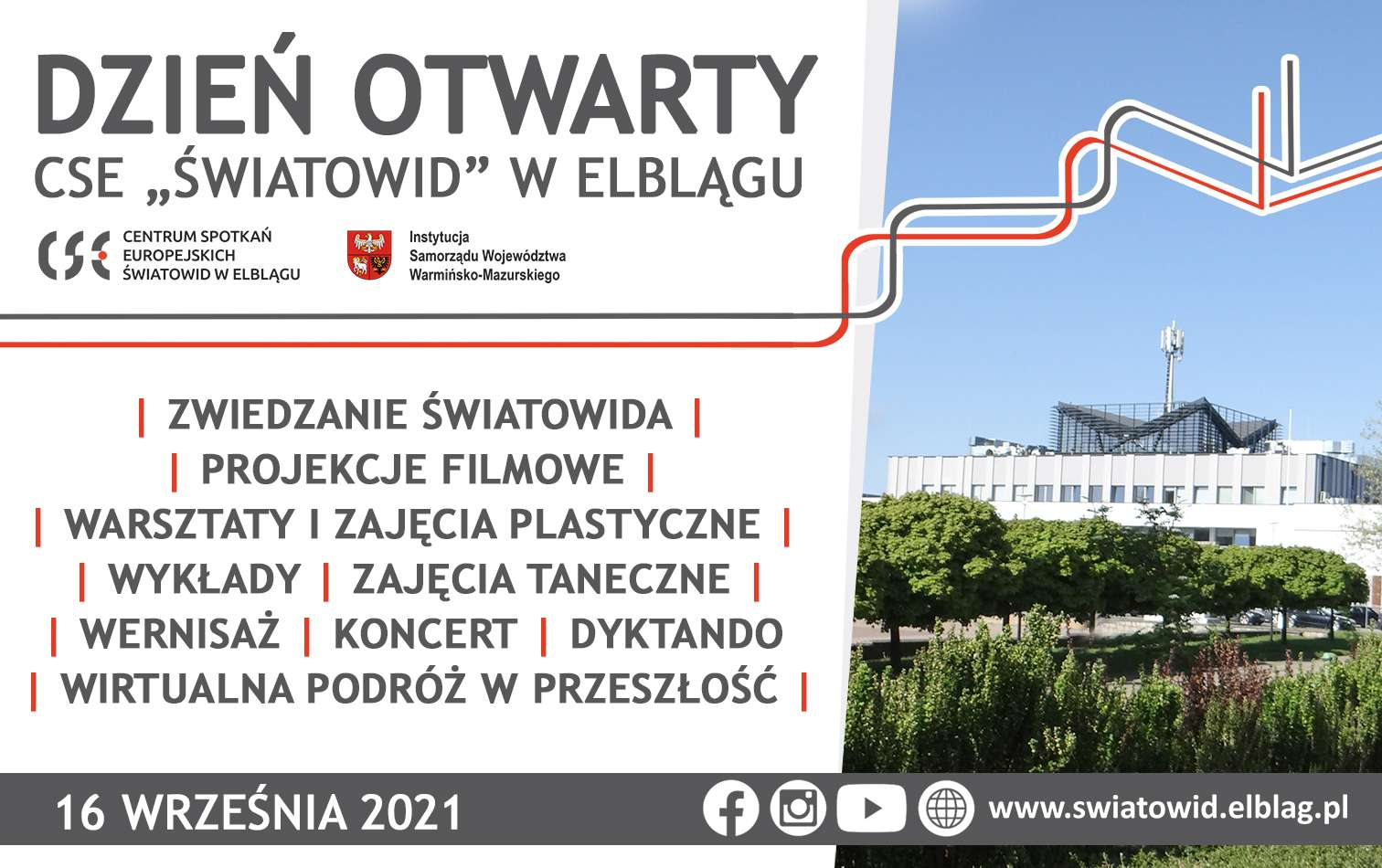 """Dzień Otwarty CSE """"Światowid"""" w Elblągu!"""