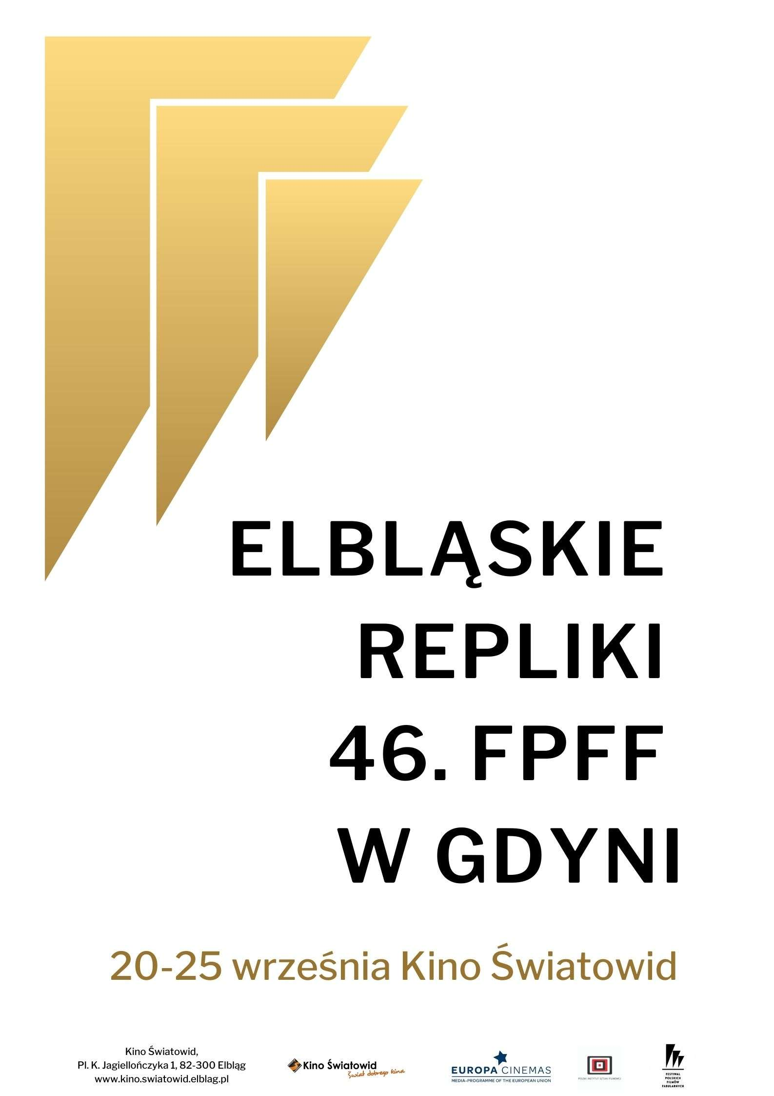 Elbląskie Repliki 46. FPFF w Gdyni w Kinie Światowid
