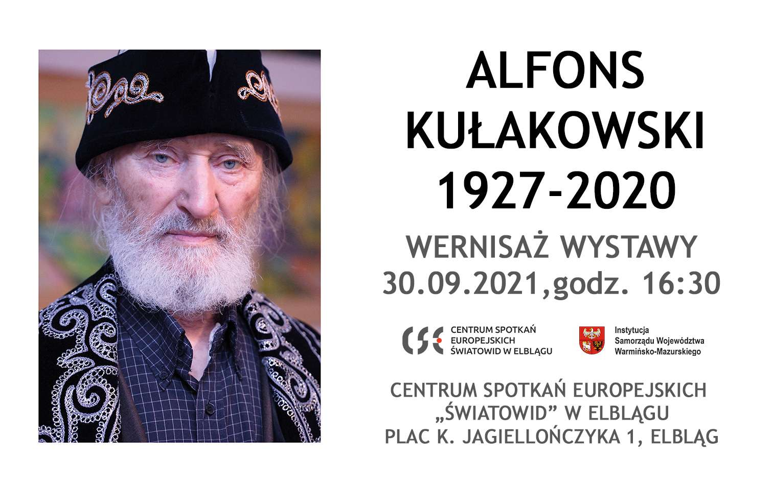 Wernisaż wystawy Alfonsa Kułakowskiego