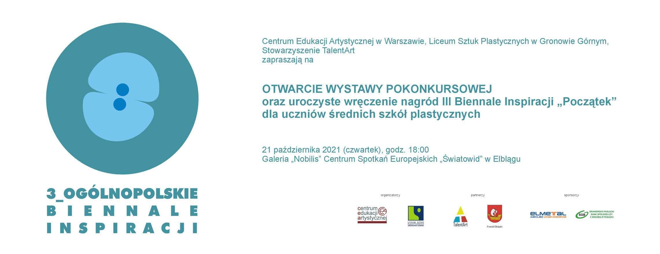 """III Ogólnopolskie Biennale Inspiracji """"Początek"""" - wernisaż"""