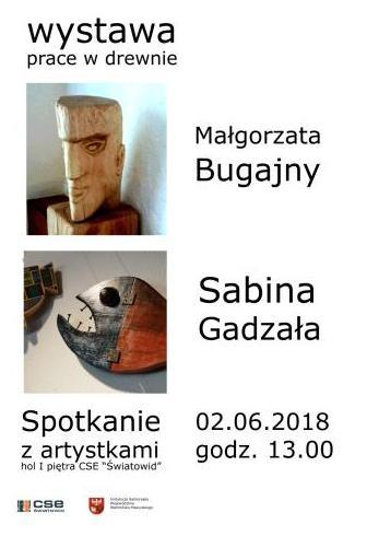 Wystawa prac w drewnie