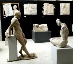 """Wystawa rzeźby """"Pracownia nr 6"""""""