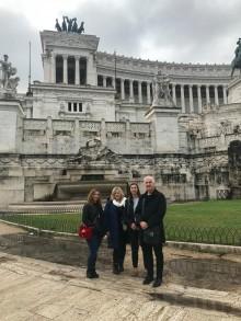 Wszystkie kulturalne drogi prowadzą do Rzymu.