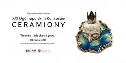 """XXI Ogólnopolski Konkurs """"Ceramiony"""""""