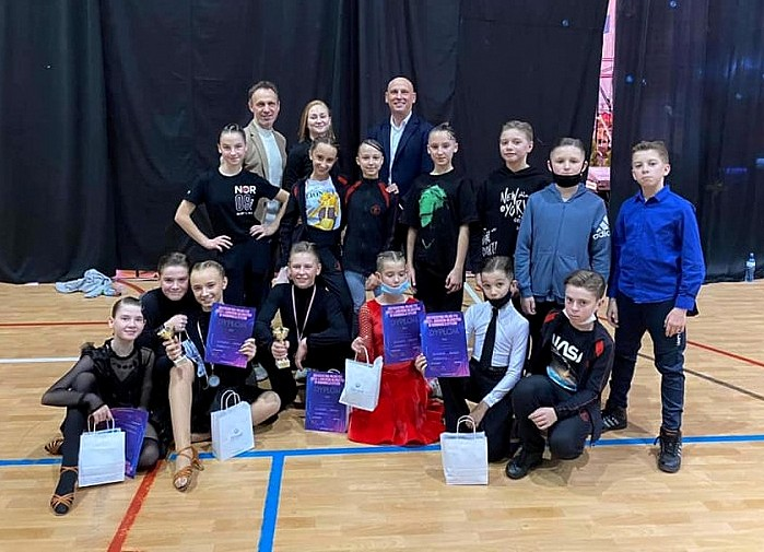 Elbląski Klub Tańca JANTAR w Ciechocinku