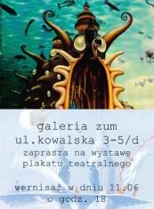 Galeria ZUM zaprasza na wernisaż wystawy plakatu