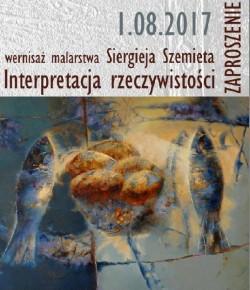 Wystawa malarstwa Siergieja Szemieta